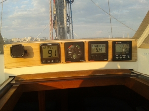 Nice clear display of new echo sounder job