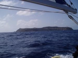 Ilhas Selvagen approach