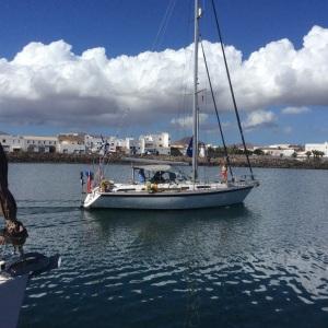 Leaving Arrecife