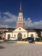Church on Martinique